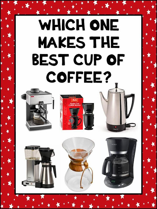 How to Make a Great Cup of Coffee...