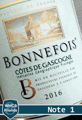 Test und Bewertung französischer Weißwein von Globus