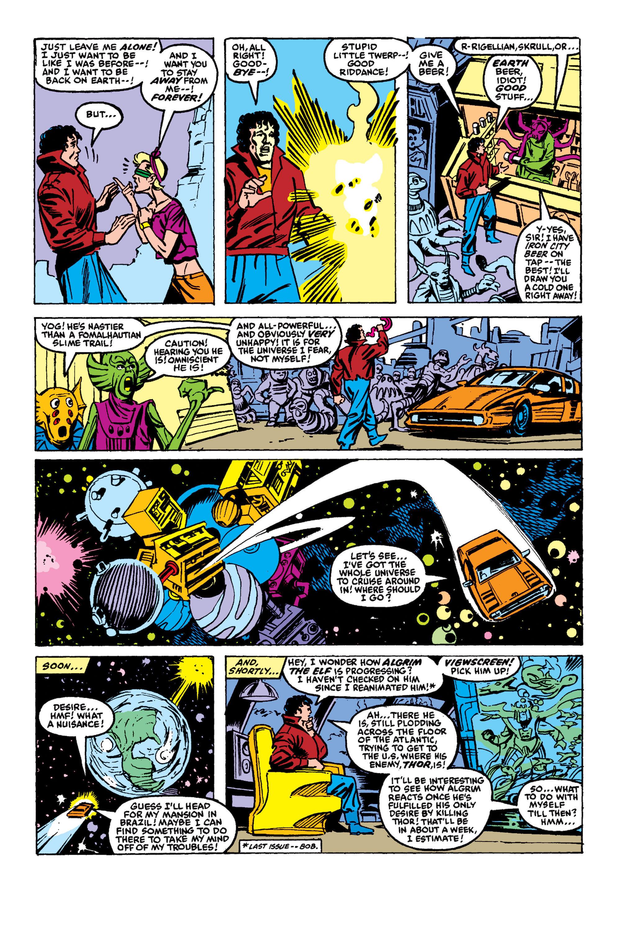 Read online Secret Wars II comic -  Issue #5 - 22