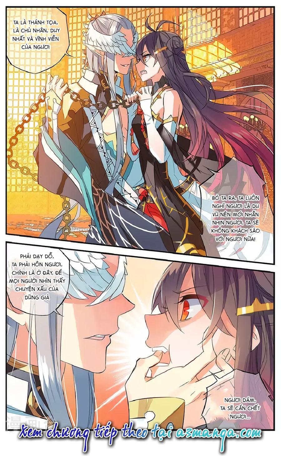 Nữ Nhân Dũng Cảm chap 61 - Trang 21