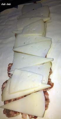 añadimos el queso semicurado