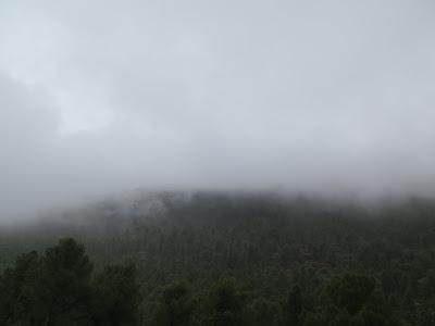Niebla en el Gran Atlas