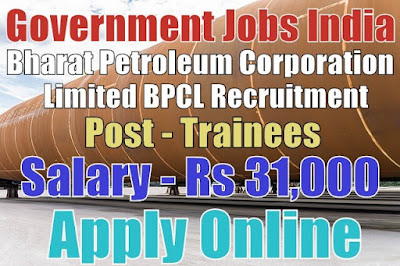 Bharat Petroleum Corporation Limited BPCL Recruitment 2017