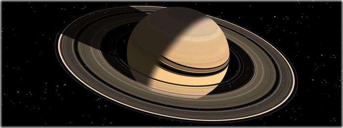 idade dos anéis e satélites de Saturno