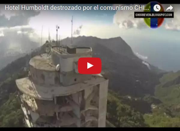 En aniversario del Teleférico, el Hotel Humboldt se encuentra destrozado