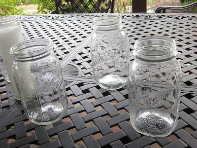 outdoor mason jar lights