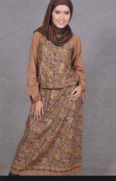 baju batik wanita 2017