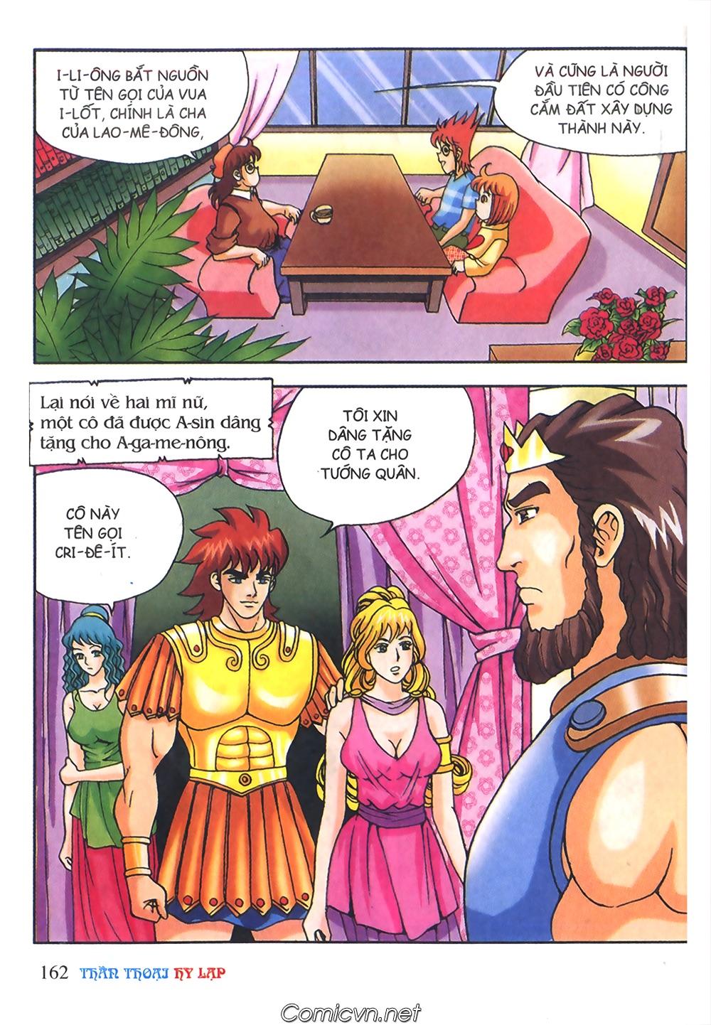 Thần Thoại Hy Lạp Màu - Chapter 56: Hai vị tướng và hai mỹ nữ - Pic 15