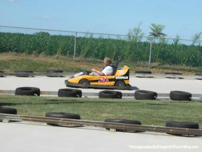 Go-Kart Racing at Adventure Sports in Hershey