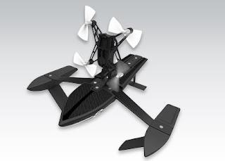Dron Parrot Hydrofoil Orak z Biedronki