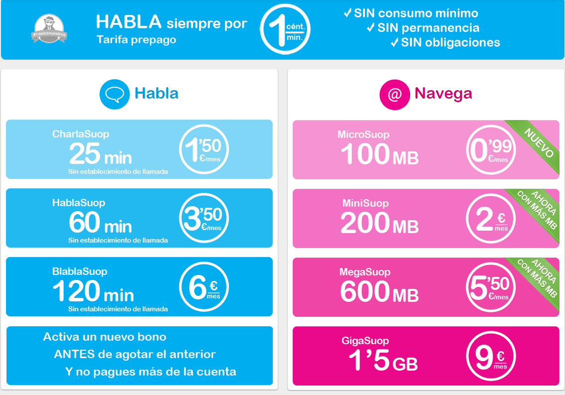 Suop Movil Low Cost