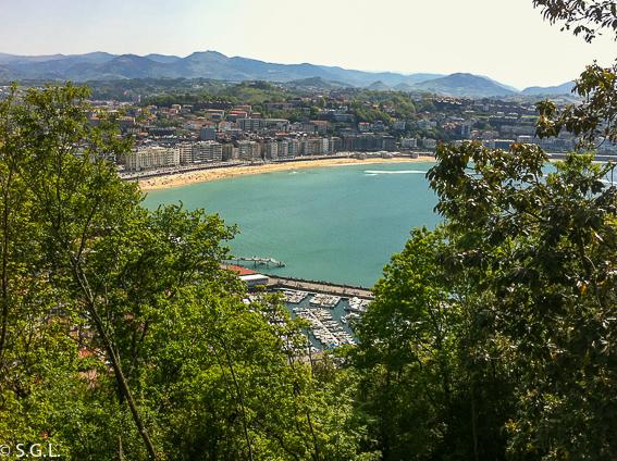 Vistas desde el monte Urgull. 20 cosas para ver en Donostia