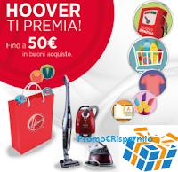Logo Hoover ti regala buoni da 25 o 50 euro sicuri (Decathlon, Tigotà, TotalErg e altri)