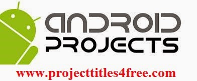 PROJECT TITLES