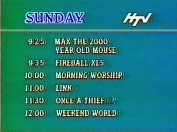 HTV Sunday Morning Schedule