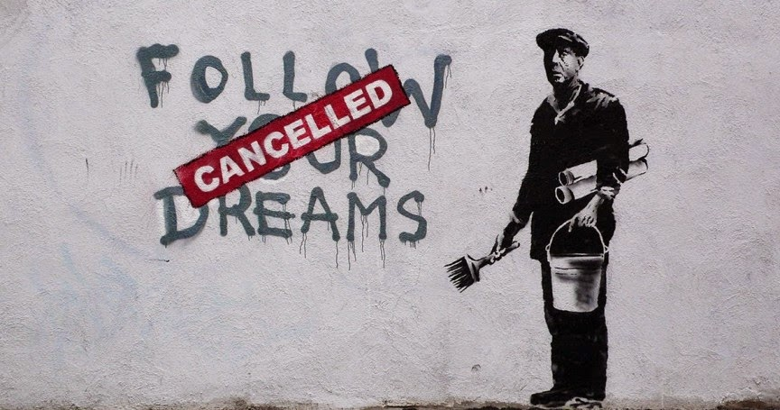 15 Of Bansky's Most Iconic Street Artworks