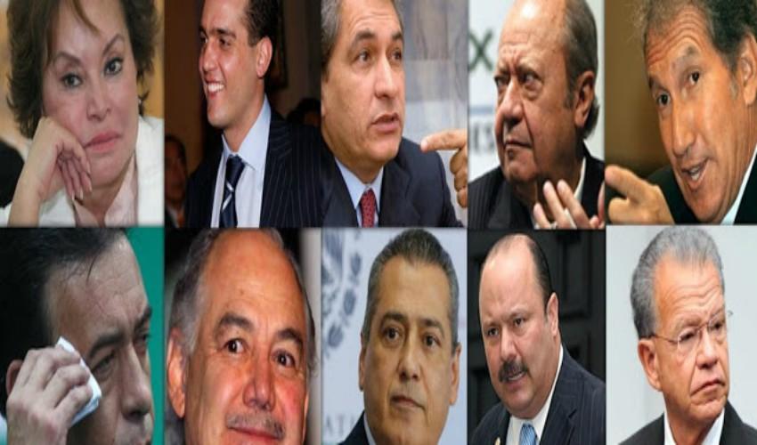 Los 20 políticos mas corruptos de los últimos 30 años de México