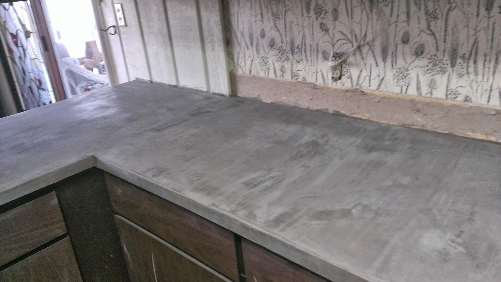 Caesarstone Countertop Thickness Slab Granite Countertops Cement Feather Finish