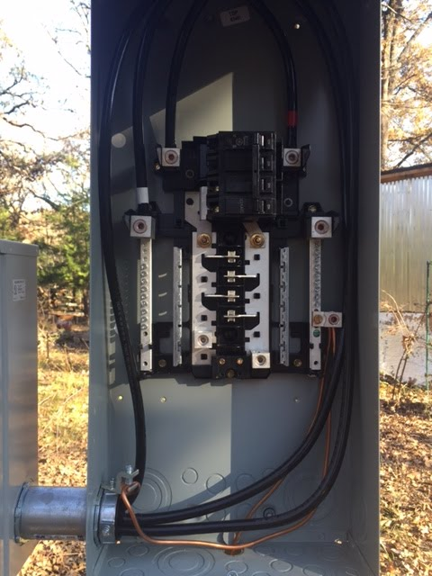 house meter box wiring electrical meter box wiring diagram dreams by the acre: (dec 6) power pole & meter base set