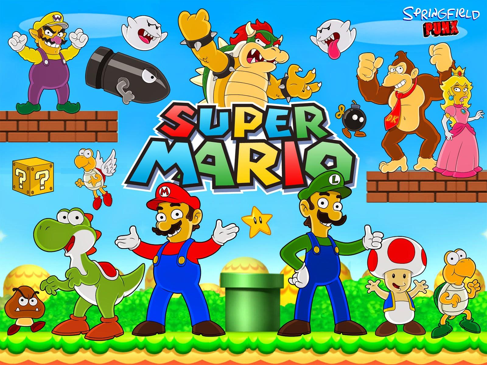 Super Bros U Newer Mario
