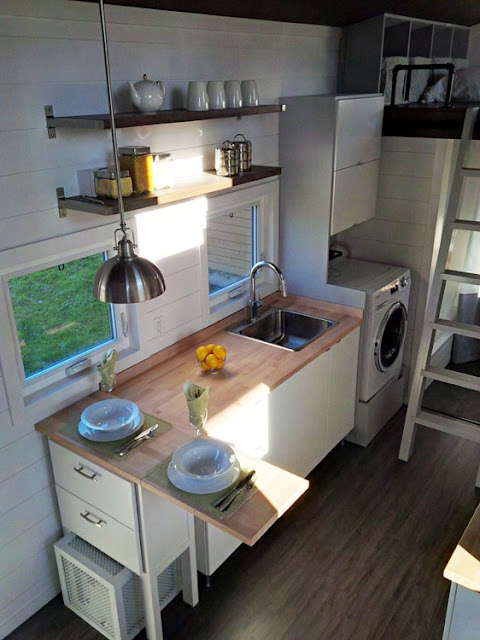 Luxe Contemporary Tiny Home