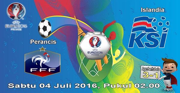 prediksi bola prancis vs islandia euro 2016