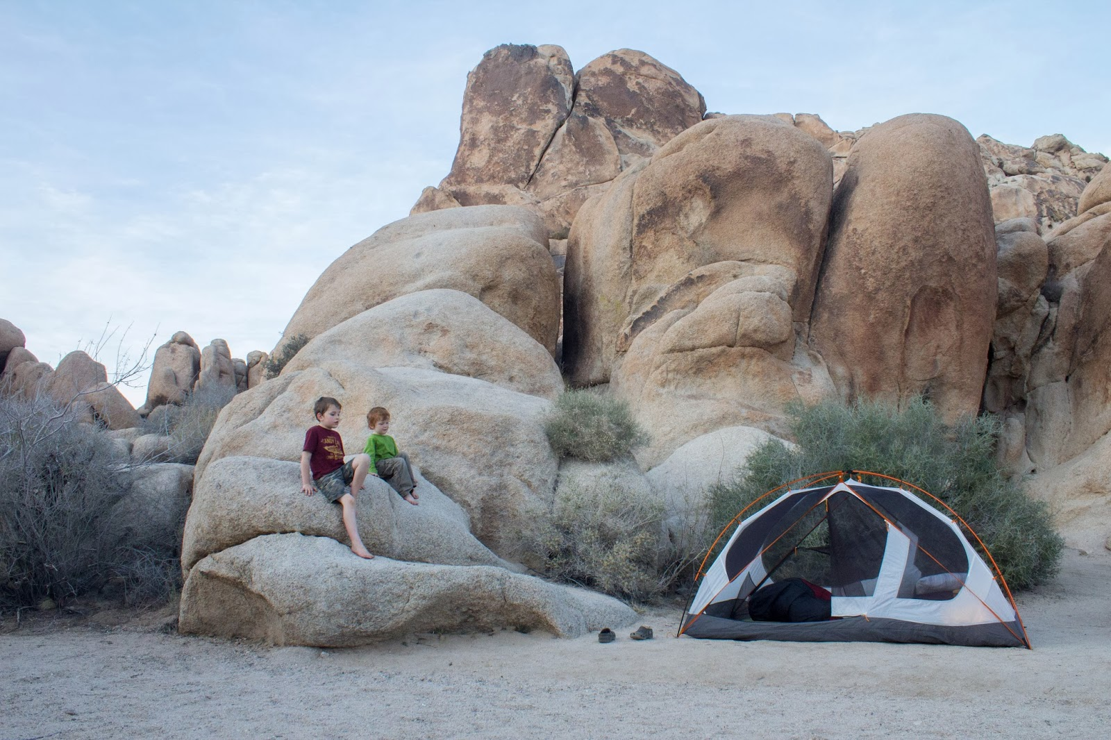 joshua tree np | camping at indian cove | pete and buzz