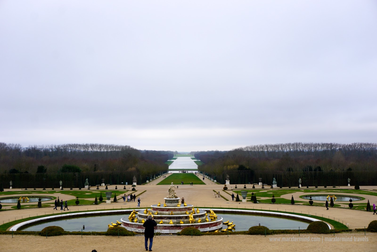 Gardens at Versailles Palace in France