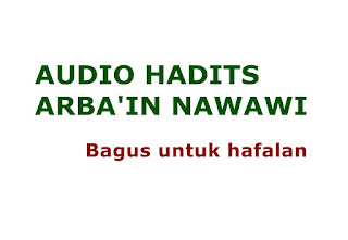 Download mp3 hadits arba'in