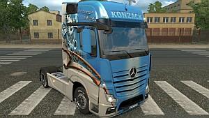 Mercedes MP4 Konzack skin