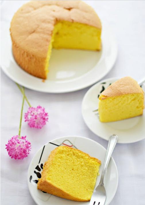 Resep Dan Cara Membuat Bolu Vanilla Sponge Cake