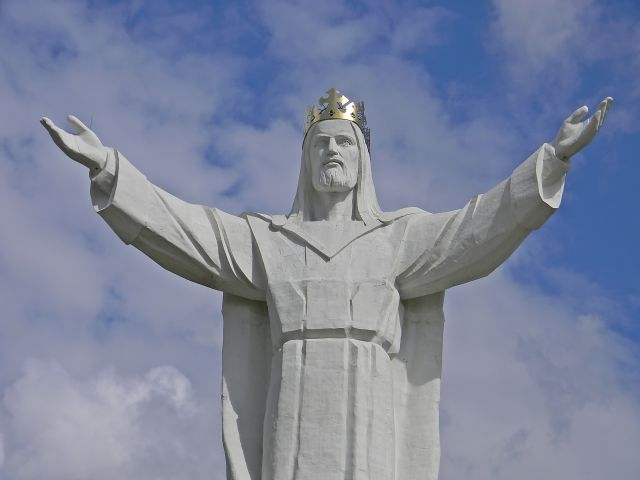 lubuskie atrakcje, Jezus, wiara, ręce