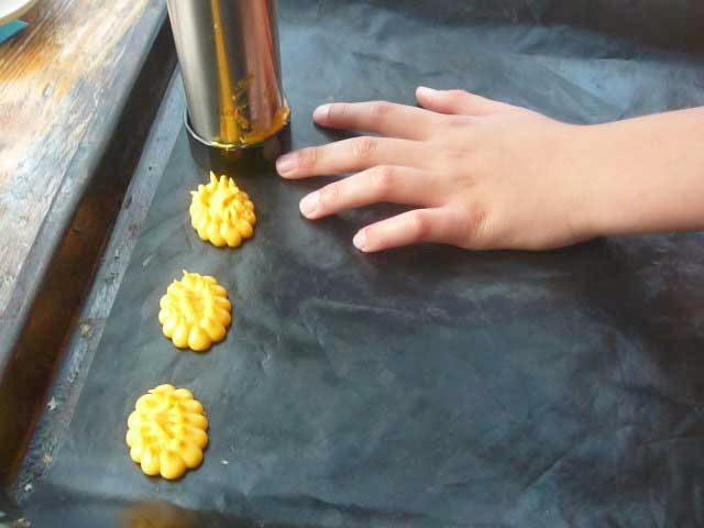 Surinaamse custard koekjes
