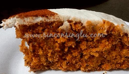 receta tarta de zanahoria sin gluten