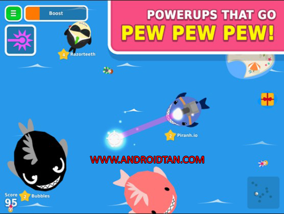 Update Terbaru Piranh.io Mod Apk Full Latest Version