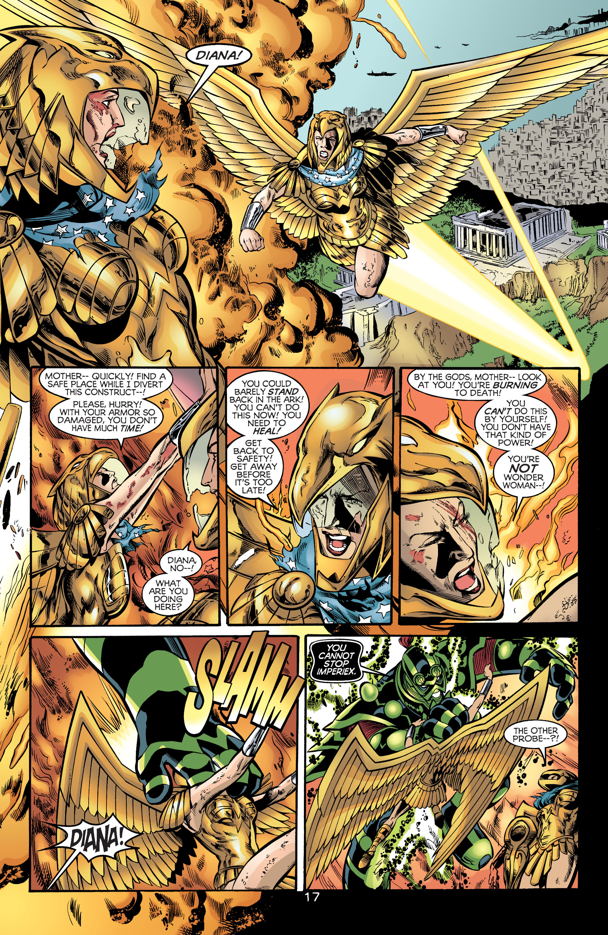 Read online Wonder Woman (1987) comic -  Issue #172 - 17