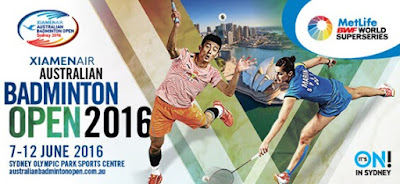 XIAMENAIR Australia Open Super Series 2016