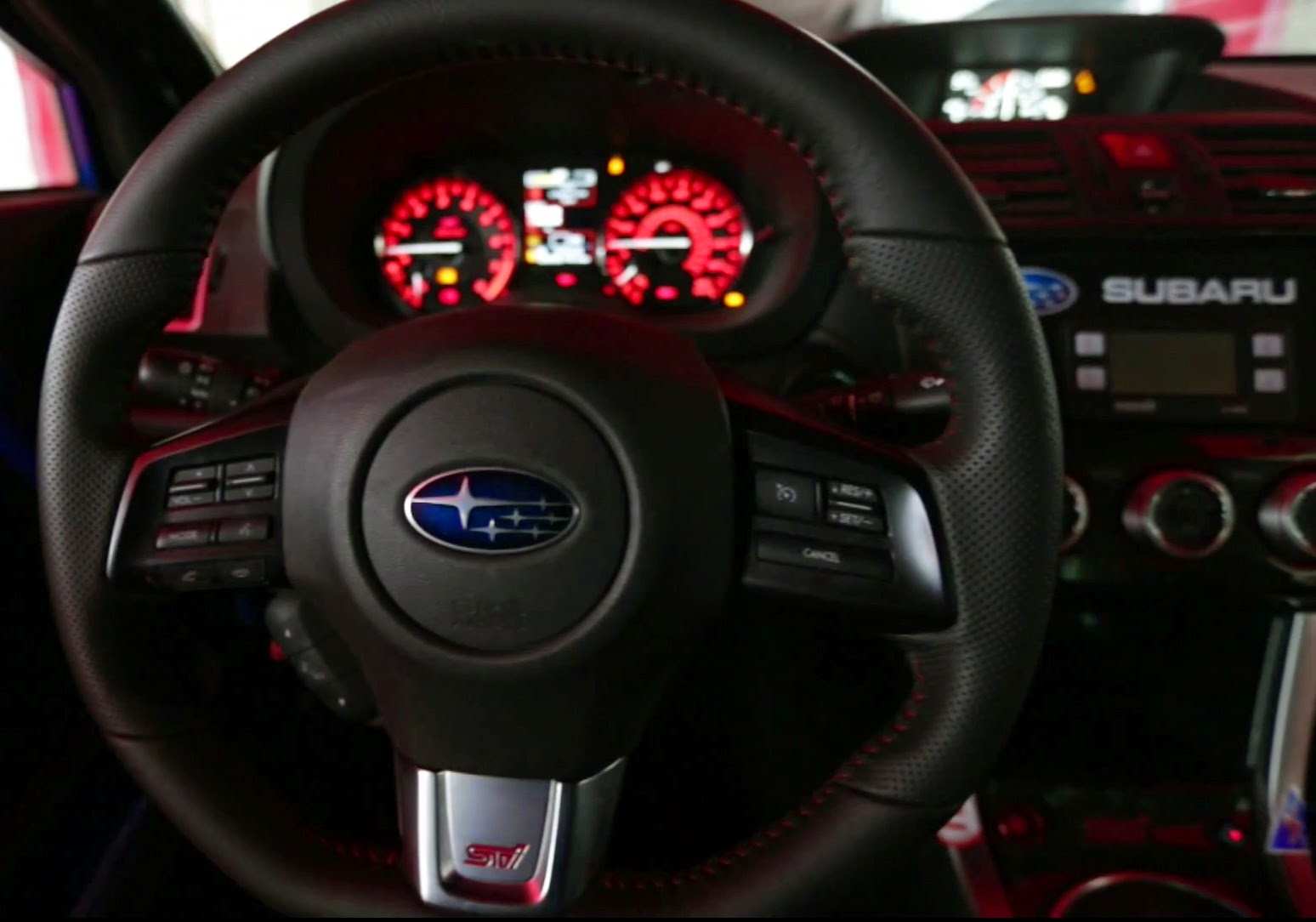 2015 Subaru WRX STi Steering Wheel Drivers Cockpit