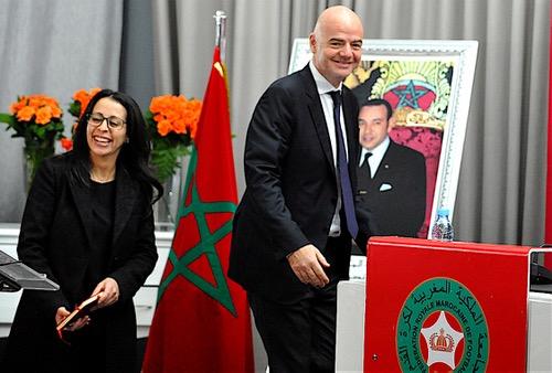 اولادبرحيل24...فيفا لهسبورت: توصلنا بطلب استضافة المغرب لمونديال 2026.. والحسم في13يونيو2018