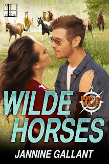 Book Showcase: Wilde Horses by Jannine Gallant
