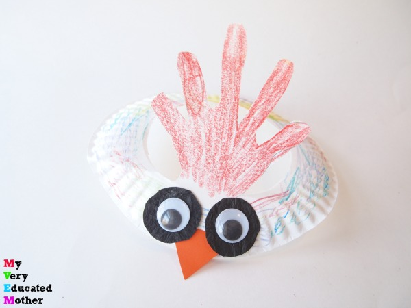 Whether you're celebrating the Chinese New Year or barnyard animals the kids will love making these Rooster Headbands!