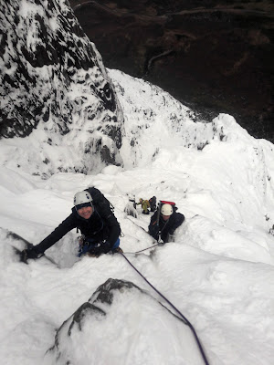 Winter climbing course glencoe