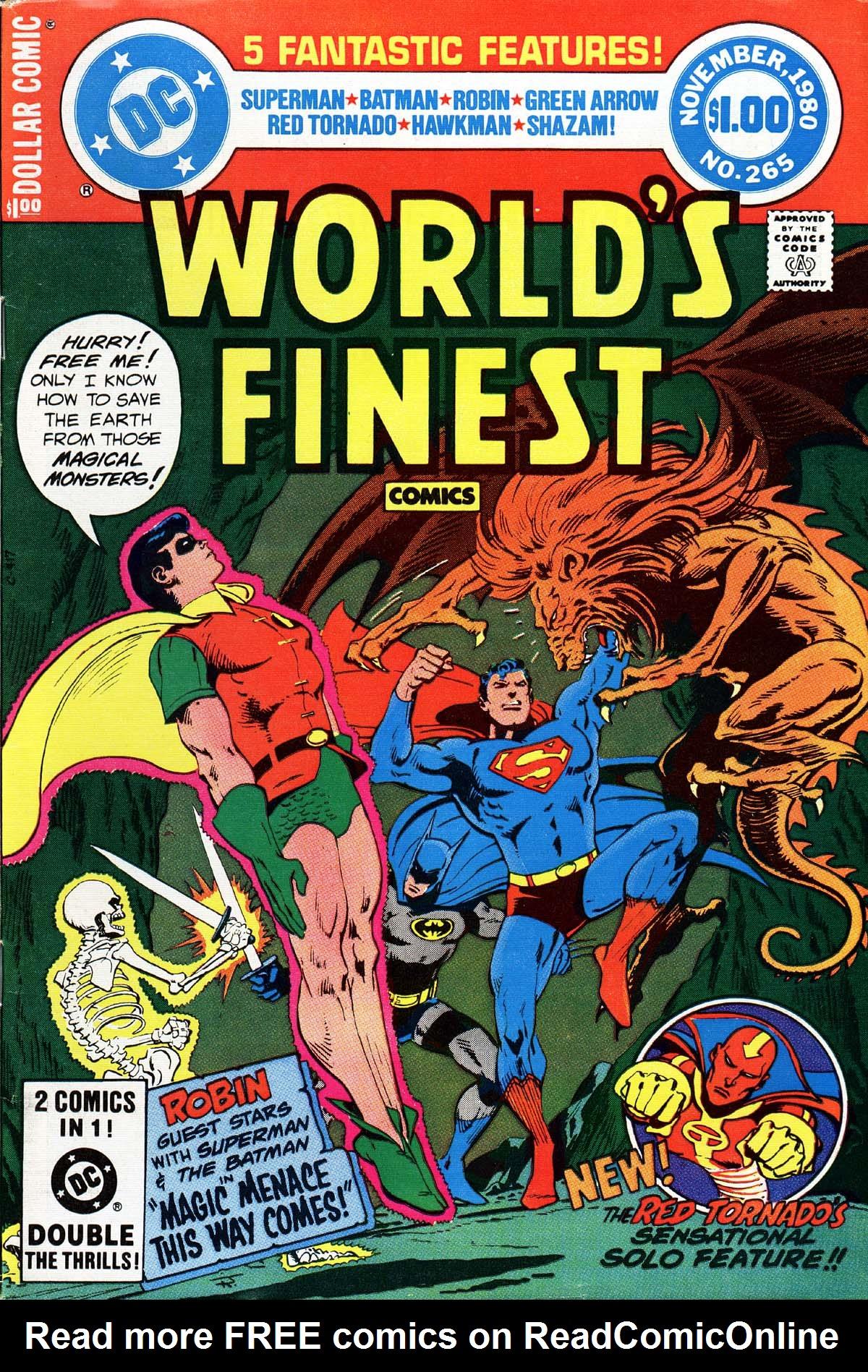 Read online World's Finest Comics comic -  Issue #265 - 1