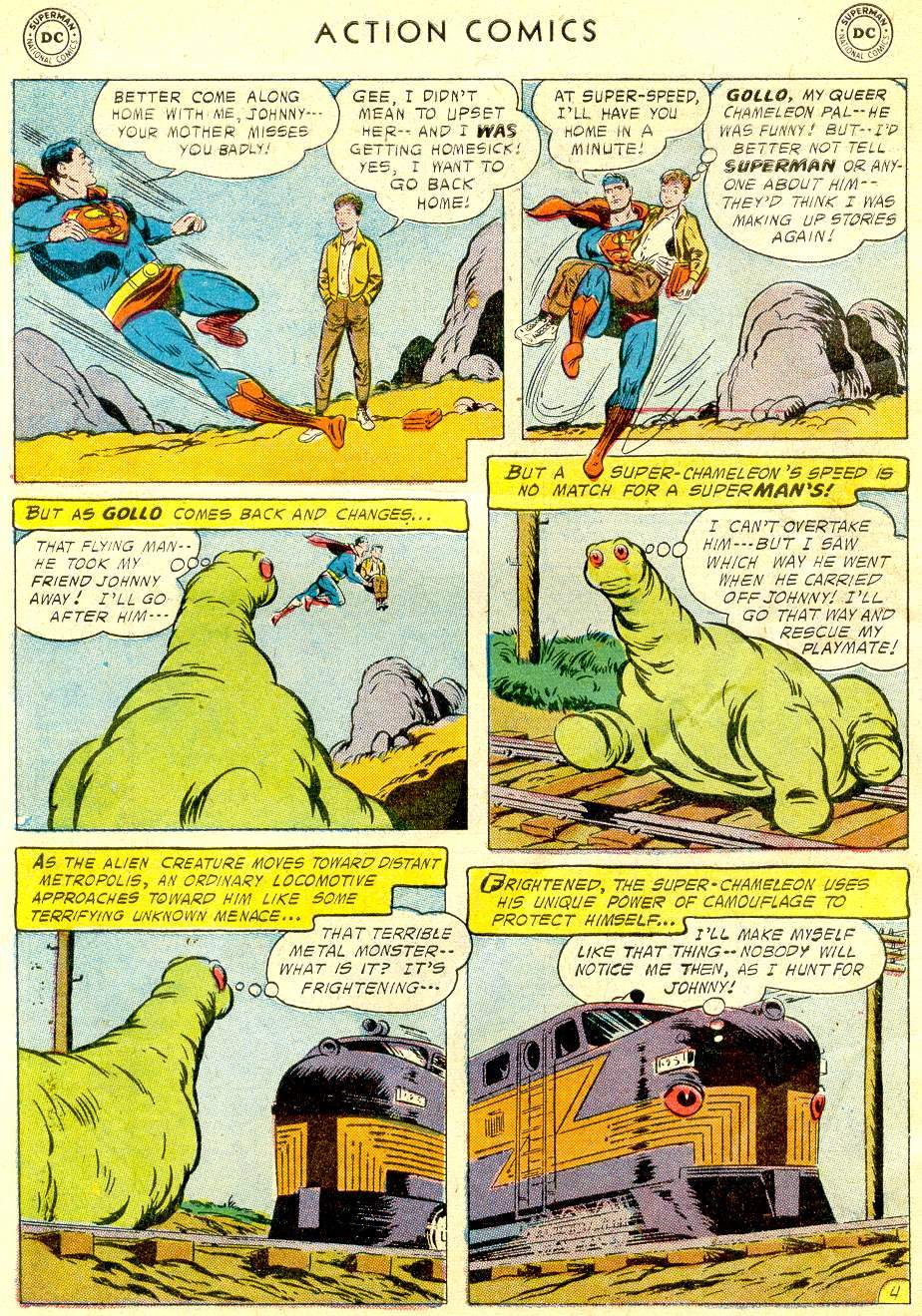 Read online Action Comics (1938) comic -  Issue #234 - 6