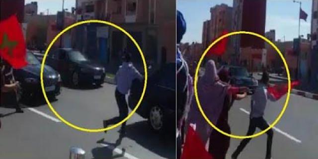 لهذا السبب أحرق مهاجر مسلم جسده في مدريد الاسبانية .. لا ينصح بمشاهدة الاطفال