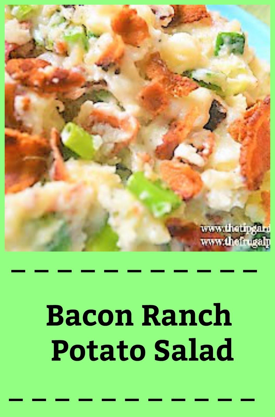 how to make potato salad with bacon