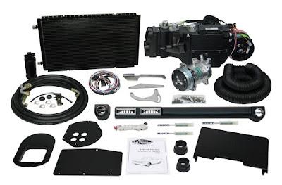 komponen utama sistem AC mobil
