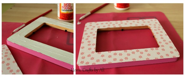 Love Frame with Scrabble Tiles - Home Crafts by Ali