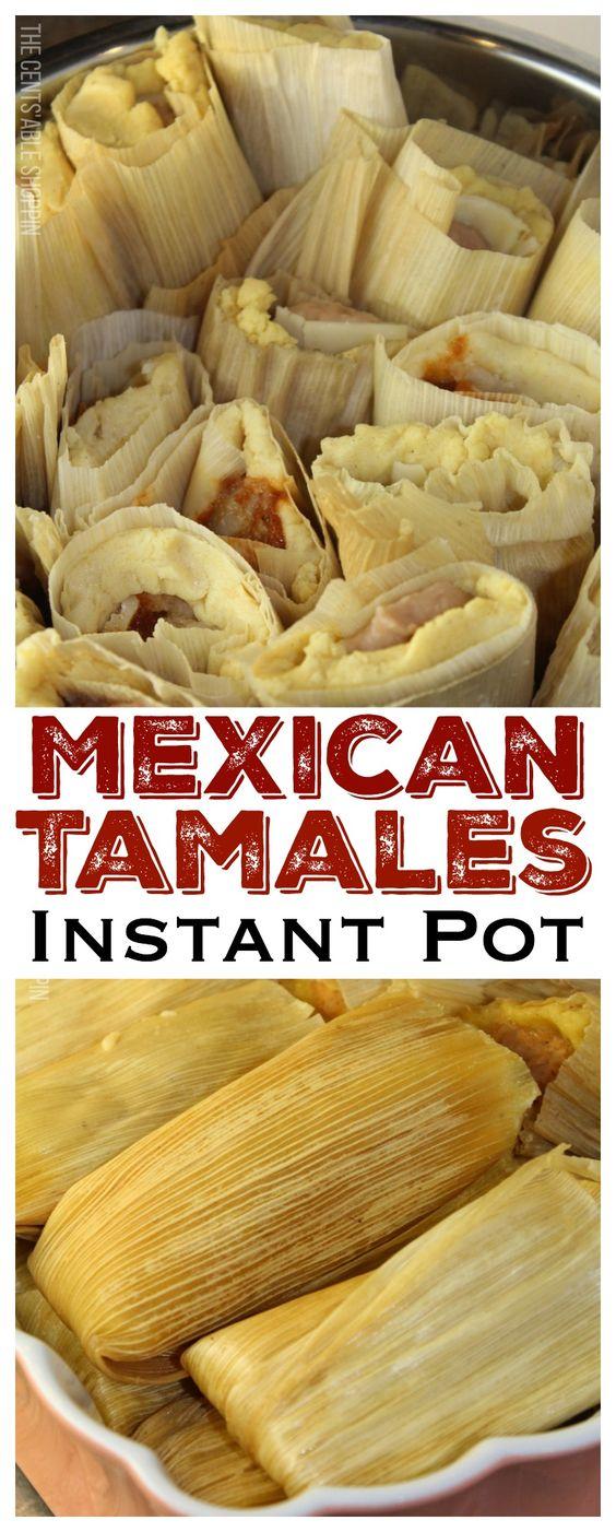 NEW INSTANT POT MEXICAN TAMALES