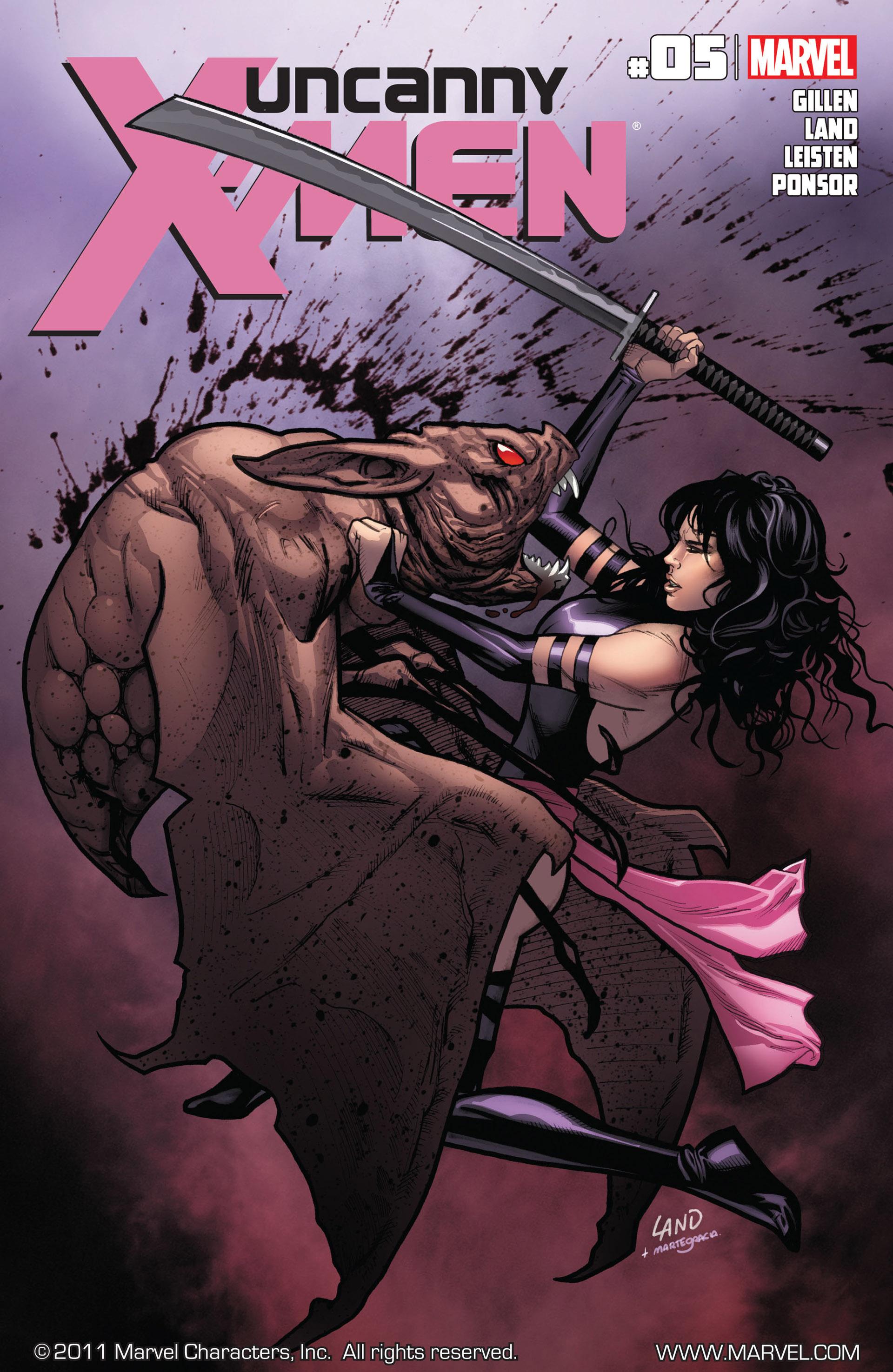 Uncanny X-Men (2012) 5 Page 1